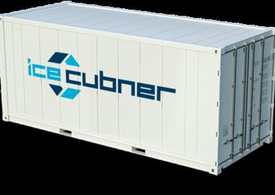 Conteneur frigorifique reefer CUBNER GLACE CONCEPT